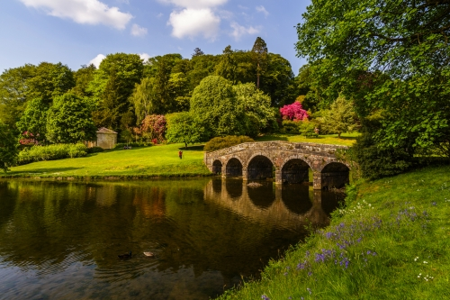 Stourhead-Gärten in Wiltshire, Vereinigtes Königreich