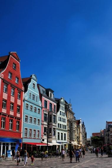 Altstadt von Rostock, Deutschland