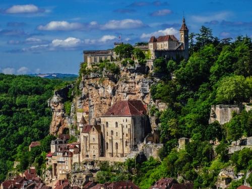 Wallfahrtort Rocamadour in Frankreich