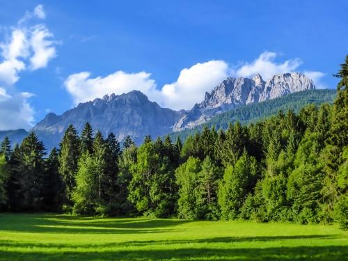 die Lienzer Dolomiten am Südrand Österreichs