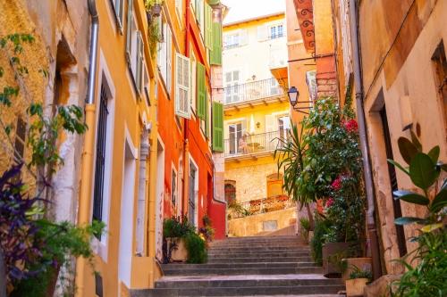 Nizza an der französischen Riviera