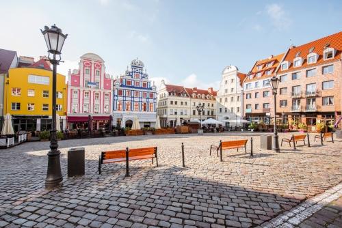 Marktplatz von Stettin, Polen