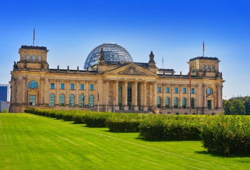 Reichstag in Berlin, Deutschland