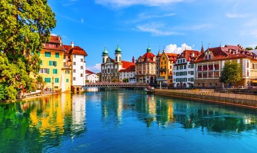 Altstadt von Luzern, Schweiz