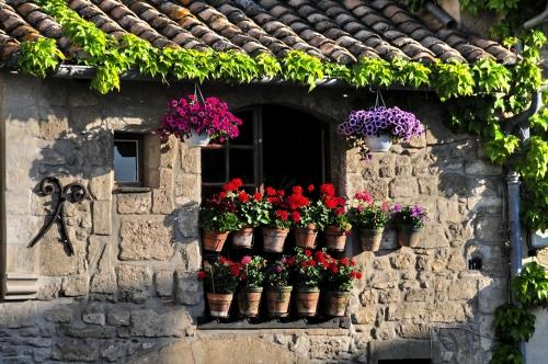 Arles am Ufer der Rhone in der südfranzösischen Region Provence