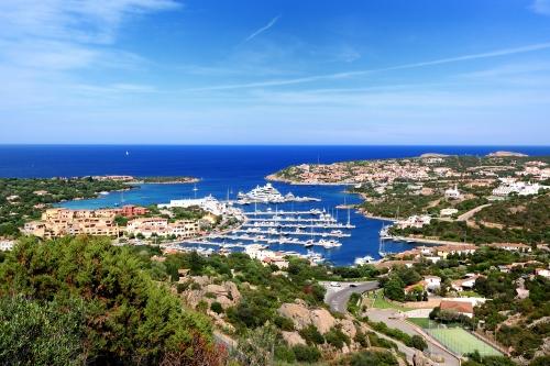 Porto Cervo an der Costa Smeralda an der Nordostküste Sardiniens, Italien