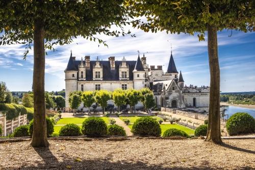 Chateau Amboise im Loiretal, Frankreich