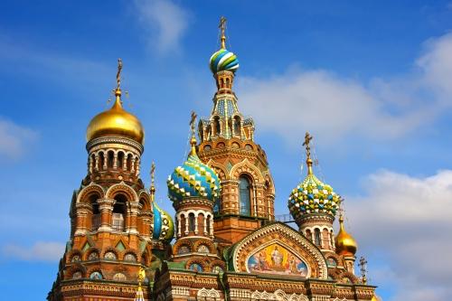 Auferstehungskirche in Sankt Petersburg, Russland