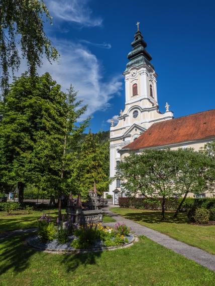 Stift Engelhartszell in Oberösterreich