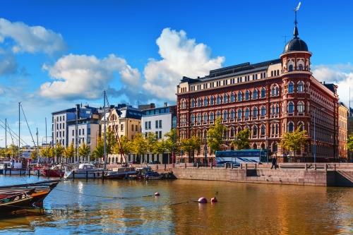 Altstädter Pier in Helsinki, Finnland