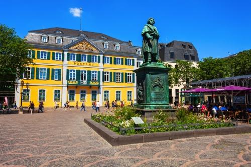 Beethoven-Denkmal in Bonn, Deutschland