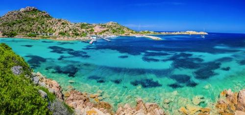 Insel La Maddalena vor der Nordostküste Sardiniens