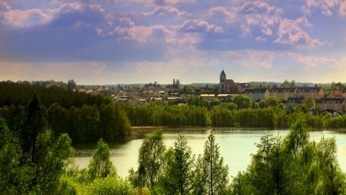 Mrągowo (deutsch Sensburg) in der polnischen Woiwodschaft Ermland-Masuren
