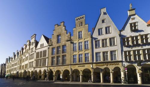 Prinzipalmarkt in Münster, Deutschland