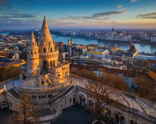 Fischerbastei in Budapest, Ungarn