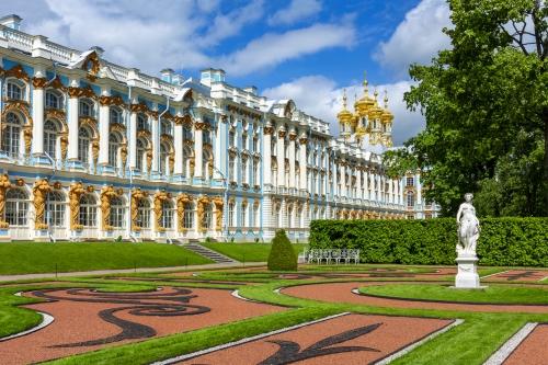 Katharinenpalast in Tsarskoe Selo nahe Sankt Petersburg, Russland