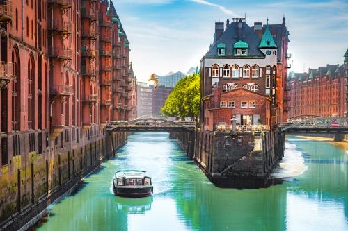 Hamburg Speicherstadt, Deutschland
