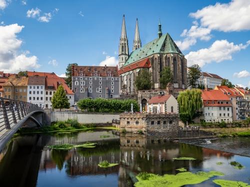 Görlitz in Sachsen, Deutschland