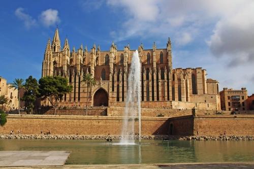 Kathedrale von Palma auf Mallorca