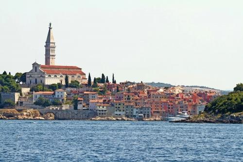 Rovinj an der Westküste der Halbinsel Istrien, Kroatien