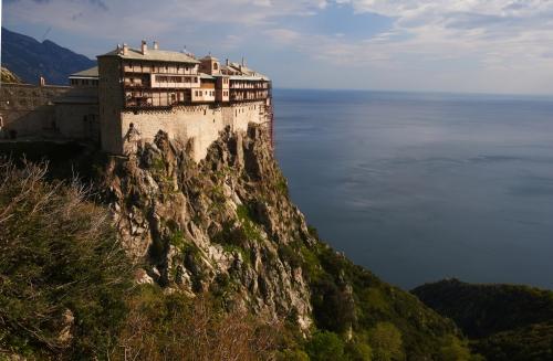 Simonos Petras Monastery, Mount Athos, Greece
