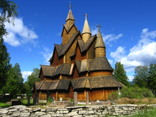 staabkirche heddal@norway
