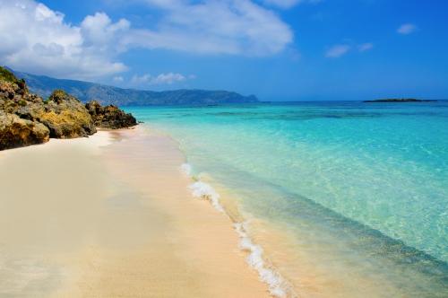Crete beach Elafonisi