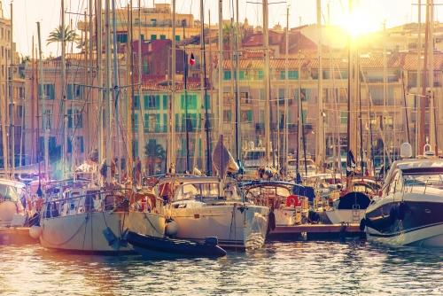 Cannes Marina French Riviera
