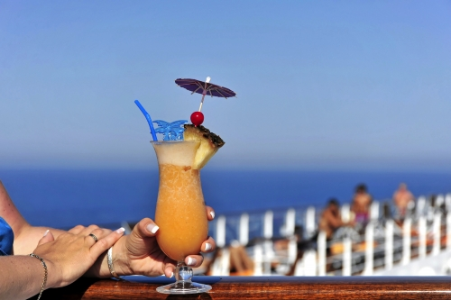 Kreuzfahrtschiff, Cocktail