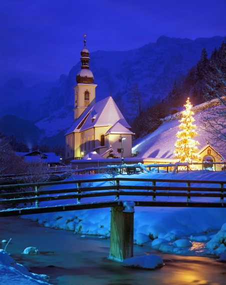 Weihnachten im Berchtesgadener Land in der Ramsau