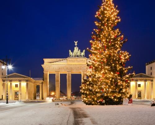 Brandenburger Tor im Advent