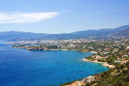 Panoramic view of Agios Nikolaos
