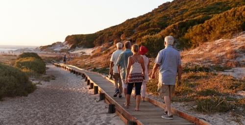 Strandurlaub mit Freunden