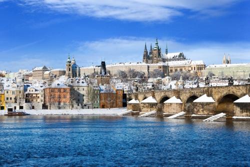winterliches Prag