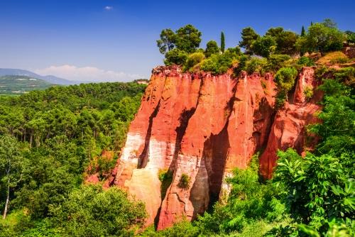 Le Sentier des Ocres bei Roussillon