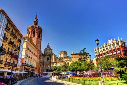 Plaça de la Reina in Valencia
