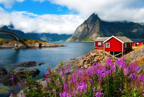 Hamnoy auf den Lofoten, Norwegen