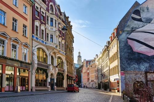 Altstadt in Riga