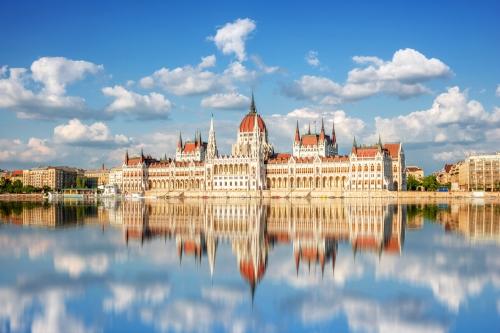 Parlament von Budapest, Ungarn
