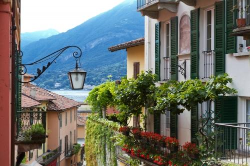 Altstadt der italienischen Stadt Bellagio