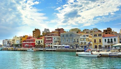 Hafen von Agios Nikolaos auf Kreta