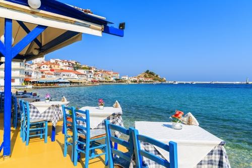Taverne in Kokkari, Samos