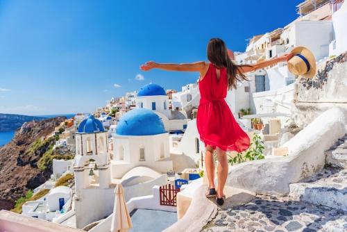 griechische Insel Santorin