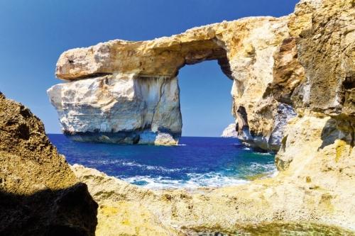 Das blaue Fenster auf Gozo