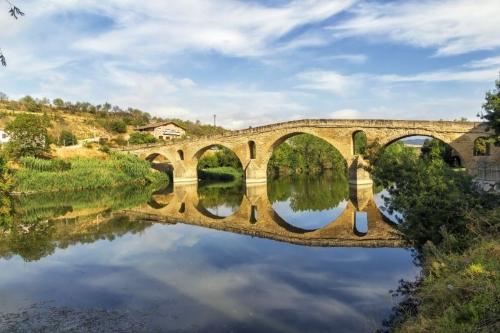 Brücke über den ARga bei Puente la Reina