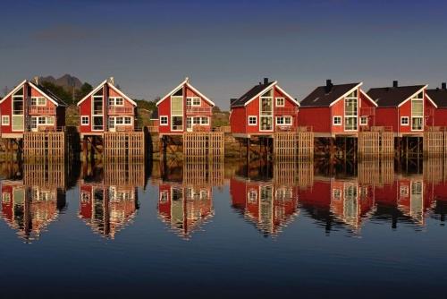 Svolvaer auf den Lofoten, Norwegen