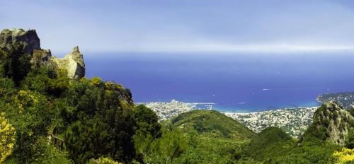 Ischia, Monte Epomeo, Golf von Neapel