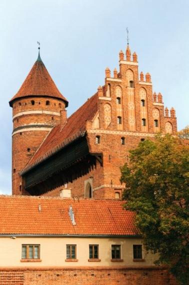 Zamek Olsztynski, Allenstein