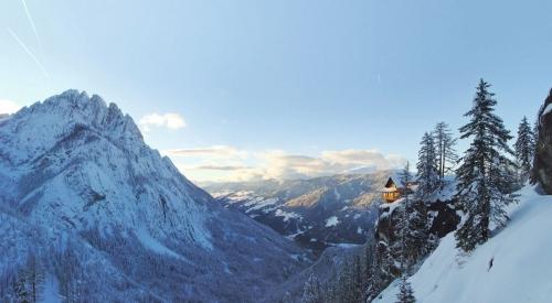 Dolomitenhütte in den Lienzer Dolomiten