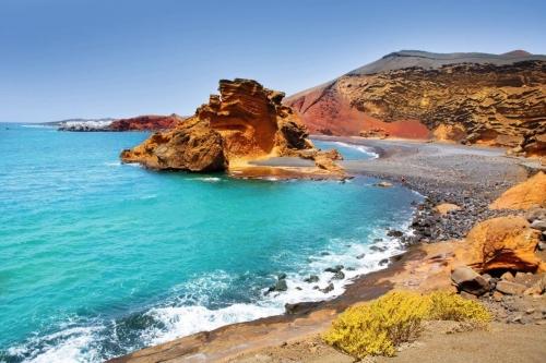El Golfo Lago de los Clicos auf Lanzarote
